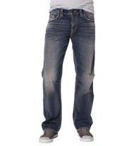 Men's Silver Jeans Gordie Loose Fit/Straight Leg Jean