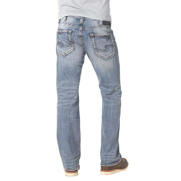 fd3bb2f9 Men's Silver Jeans Zac Relaxed Fit/Straight Leg Jean | SCHEELS.com