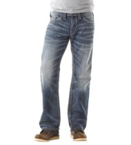 Men's Silver Jeans Zac Relaxed Core Straight Jean