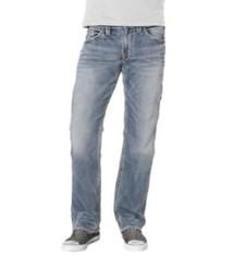 Men's Silver Jeans Zac Joga Light Wash Relaxed Fit/Straight Leg Jean