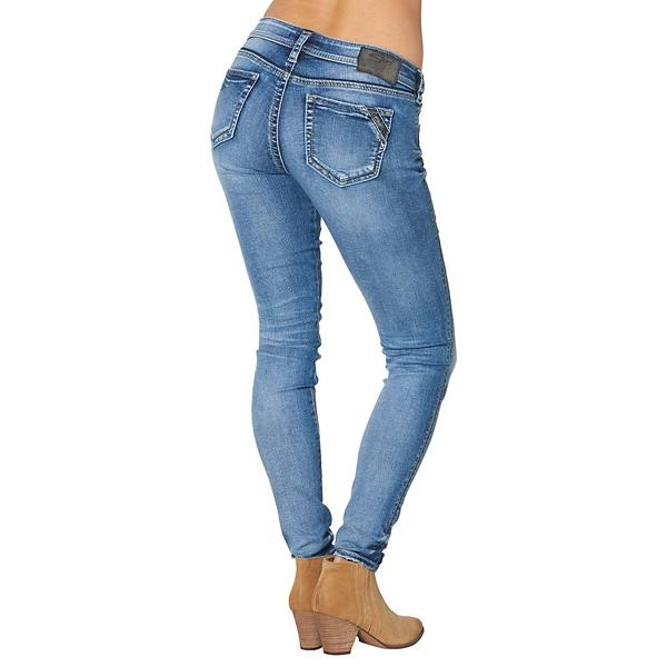 7f9a6d4fa95 Women s Silver Jeans Aiko Super Skinny Jean