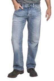 Men's Silver Jeans Gordie Loose Straight Jean