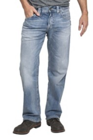 Men's Silver Jeans Gordie Loose Straight Jean