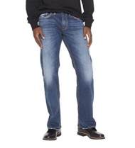 Men's Silver Jeans Zac Relaxed Straight Jean