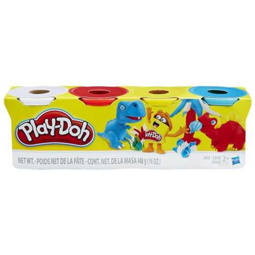 Play Doh Classic 4pk Ast