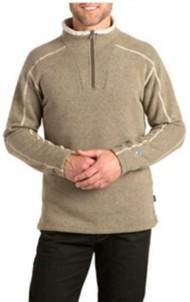 Men's Kuhl Europa 1/4 Zip Sweater