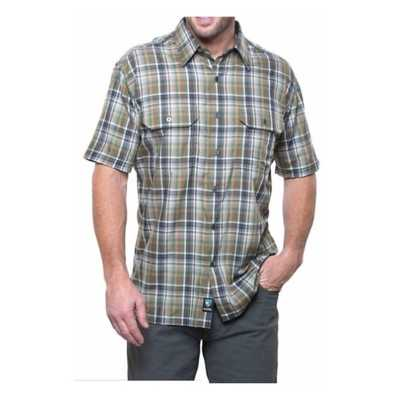 Men's Kuhl Response Button Up Short Sleeve Shirt