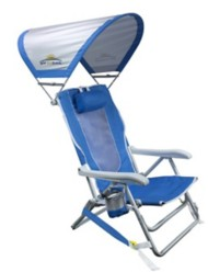 GCI Outdoor Backpack Sun Shade Chair