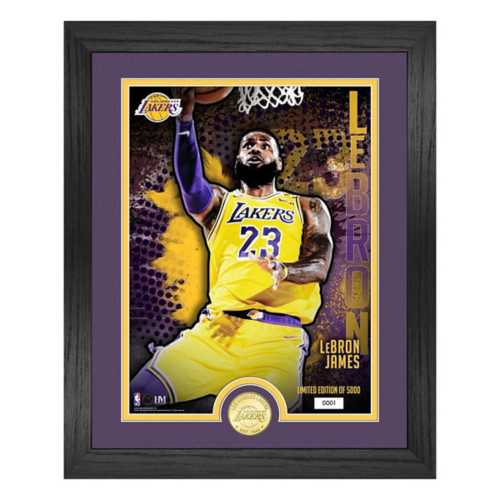 Highland Mint Los Angeles Lakers Dominate Framed Coin & Photo