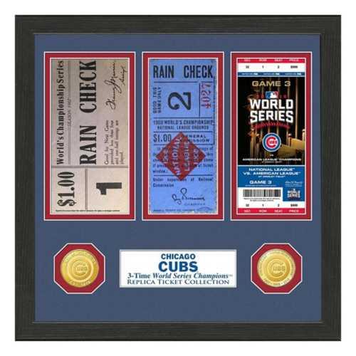 Highland Mint Chicago Cubs Framed Tickets