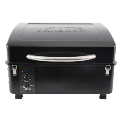 Traeger Town and Travel Series Scout Wood Pellet Grill - Black