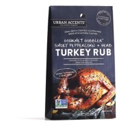Urban Accents Gourmet Gobbler Herb Peppercorn Turkey Rub