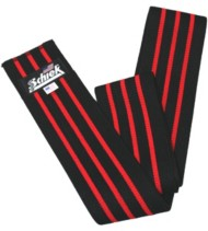 Schiek Black Line Knee Wrap