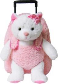 Youth Kreative Kids Plush Pink Kitty Roller Bag