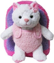 Youth Kreative Kids Plush Pink Kitty Backpack