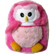 Youth Kreative Kids Plush Pink Owl Backpack