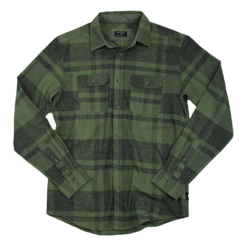 Men's Ocean Current Maxbass Woven Button Up Long Sleeve Shirt