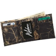 Weber's Leather Camo Tri-Fold Wallet