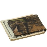 Weber's Leather Magnetic Moneyclip Wallet