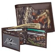 Weber's Nylon Camo Bi-Fold Wallet
