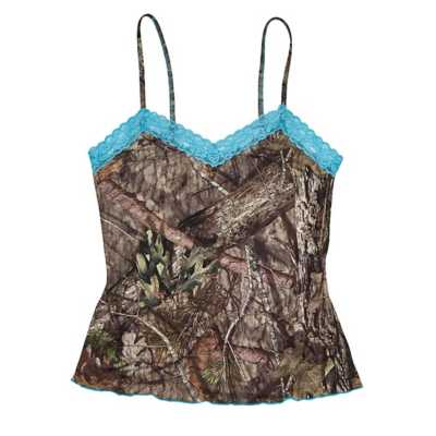 Wilderness Dreams Lace Trimmed Camisole