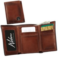 Weber's Premium Leather Tri-fold Wallet