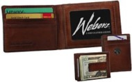 Weber's Premuim Leather Front Pocket Wallet