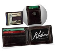Webers Camo Leather GoodsPremium Front Pocket Wallet