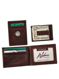Dynasty Leather Front Pocket Wallet