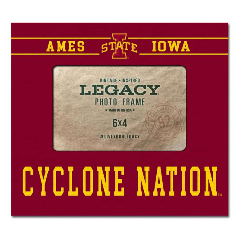 Legacy Athletic Iowa State Cyclones Wood Photo Frame
