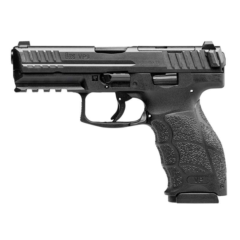 HK VP9 Optics Ready 17 Rd 9mm Pistol