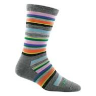 women's Darn Tough Sassy Stripe Light Crew Socks
