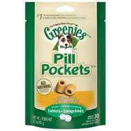 Greenies Tablet Pill Pocket Dog Treats