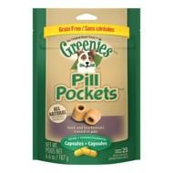 Greenies Grain Free Capsule Pill Pocket Dog Treats