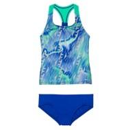 Youth Girls' Nike Colorblock Tankini Set