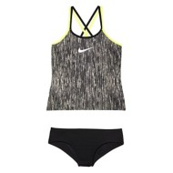 Youth Girls' Nike Rush Heather Tankini Set