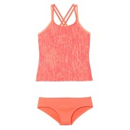 Youth Girls' Nike Rush Heather Tankini Set