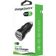 Chargeworx Dual USB Car Charger
