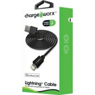 Chargeworx 3ft Lightning Sync & Charge Cable