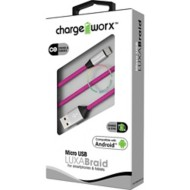 Chargeworx 3ft Micro USB Sync & Charge LUXABraid Cable