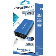 Chargeworx 4000mAh Premium Power Bank