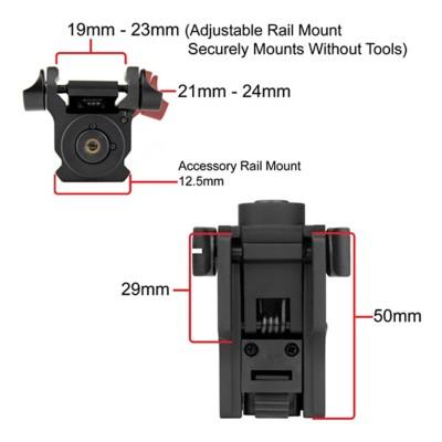 iPROTEC RMLSR Rail Mount Laser