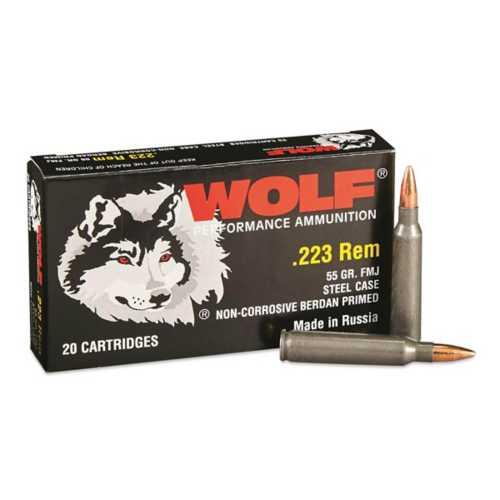 WOLF Performance Aummunition Steel Cased Rifle Catridges