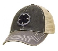 Men's Black Clover Two Tone Vintage #6 Cap