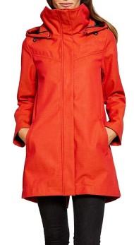 Women's Mia Melon Plus Size Stella Rain Jacket