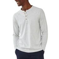 Men's The Normal Brand Long Sleeve Puremeso Long Sleeve Henley