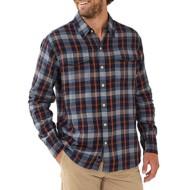 Men's The Normal Brand Conrad Plaid Long Sleeve Shirt