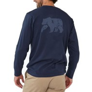 Men's The Normal Brand Long Sleeve Vintage Bear T-Shirt