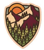Dust City Designs Mountain Top Sticker