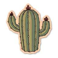 Dust City Designs Lone Cactus Sticker
